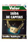 Luis Louro Illustration - Valor Magazine cover No43 08-1992